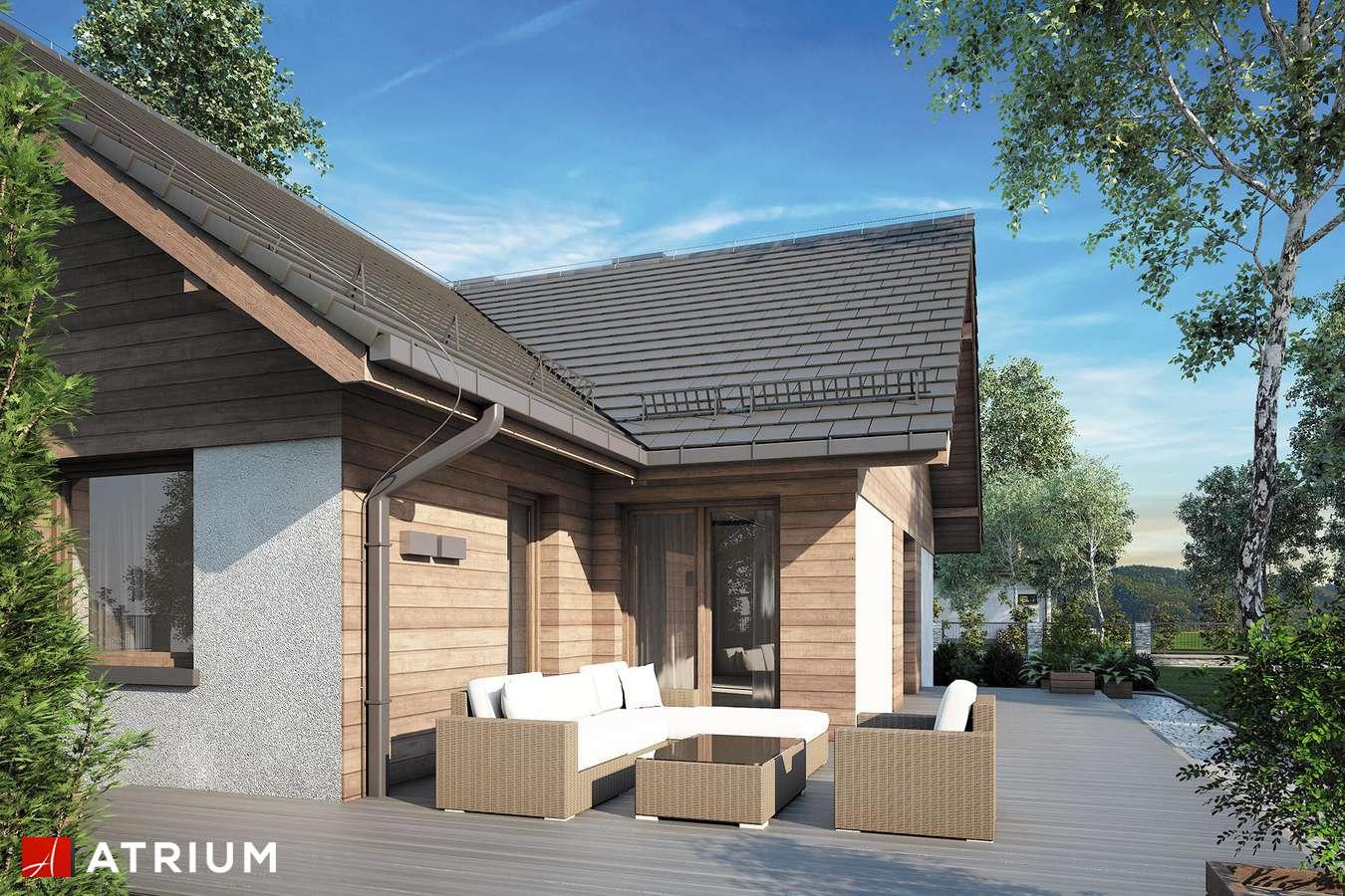Projekty domów - Projekt domu z poddaszem OXFORD II - wizualizacja 2