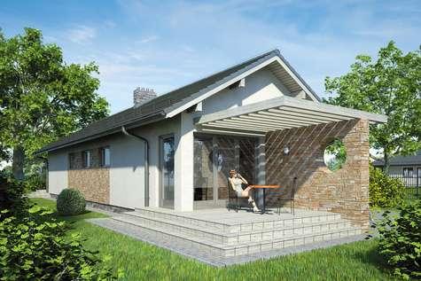 Projekt domu parterowego NEPTUN