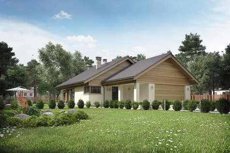 Projekt domu parterowego MERLIN