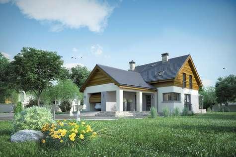 Projekt domu z poddaszem SAMBA MINI III
