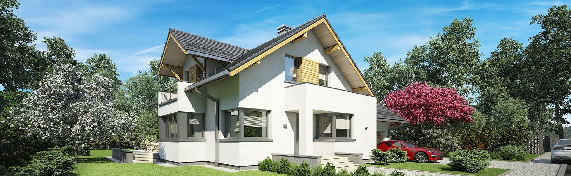 Projekt domu Muscat - wygoda i nowoczesność